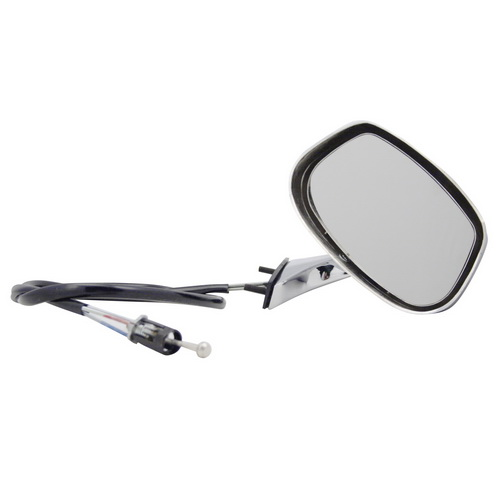 Pilot CV2609410-5L00 Buick Skylark Black Manual Remote Replacement Driver Side Mirror